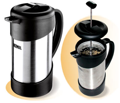 Термос-кофеварка 1л пр-ва THERMOS серия HOME арт 836564 NCI-1000 COFFEE PLUNGER
